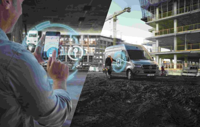 Mercedes PRO startet digitale Services für neuen Mercedes-Benz Sprinter.