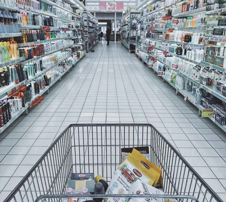 Grocery Cart With Item - Photo by Oleg Magni from Pexels